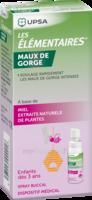 Les Elementaires Spray Buccal Maux De Gorge Enfant Fl/20ml à Voiron