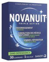 Novanuit Triple Action Comprimés B/30 à Voiron