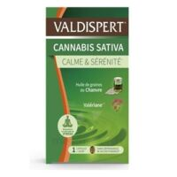 Valdispert Cannabis Sativa Caps Liquide B/24 à Voiron