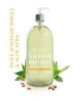 Beauterra - Savon De Marseille - Huile D'amande Douce & Aloé Vera - 1l à Voiron