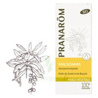 Pranarom Huile Végétale Bio Macadamia 50ml à Voiron