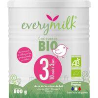 Everymilk Bio 3 Lait En Poudre B/800g à Voiron